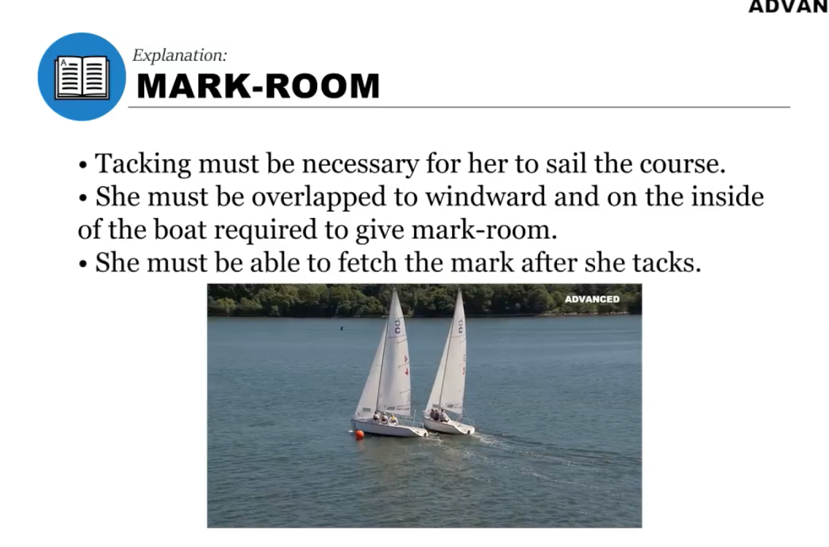 Mark Room explanation
